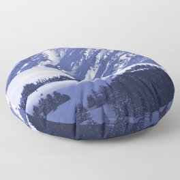 Back-Country Skiing - 8 Floor Pillow