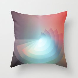 Fades Throw Pillow