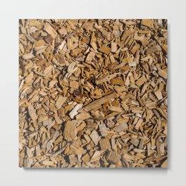 Wood Chips ! Metal Print
