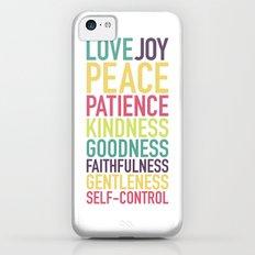 Fruits of the Spirit iPhone 5c Slim Case