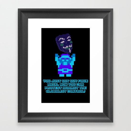 Legend of Guy Framed Art Print