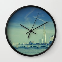 View to the Shard Wall Clock