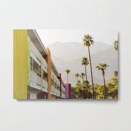 Saguaro Hotel Palm Springs Metal Print