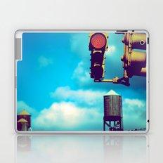 NYC Traffic Light Laptop & iPad Skin