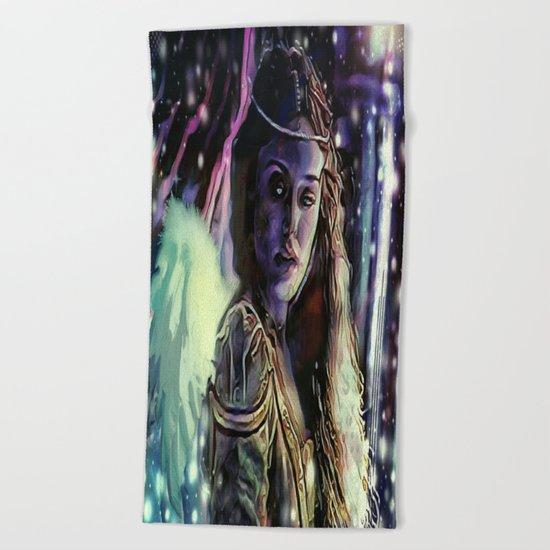 Erinyes: Megaera Beach Towel