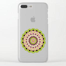 Mandala Dua Clear iPhone Case