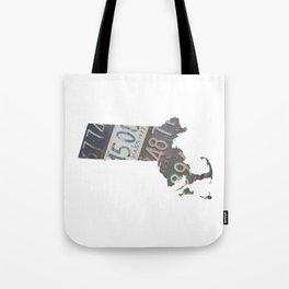 Vintage Massachusetts Tote Bag