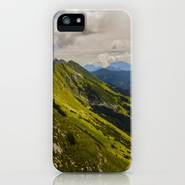Musical Mountains iPhone Case