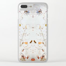 Micro Sea Clear iPhone Case