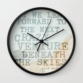 The Next Crazy Venture Wall Clock