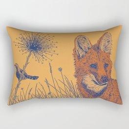 Maned Wolf Rectangular Pillow
