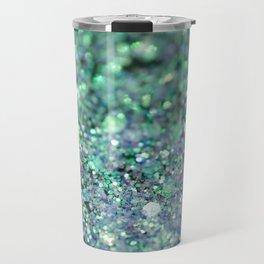 Underwater Mermaid Glitter #1 #shiny #decor #art #society6 Travel Mug