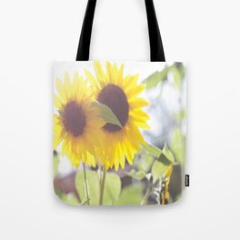 Sunflowers From My Mother-in-law's Garden Tote Bag