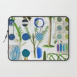 Botanical Series: Blue Laptop Sleeve