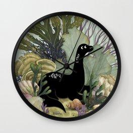 Tiny Nessie Wall Clock