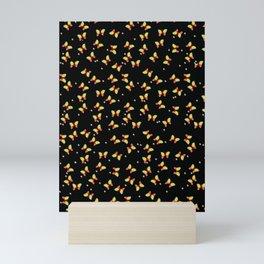 Muster Schmetterlinge 1 - Pattern butterflies 1 Mini Art Print