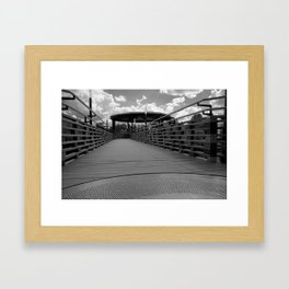 Bridge in Kingsley Falls, #Canada Framed Art Print