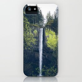 Latourell Falls in the Columbia River Gorge - Oregon Waterfalls iPhone Case