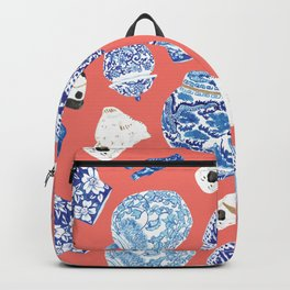 Chinoiserie Curiosity Cabinet Toss 3 Backpack