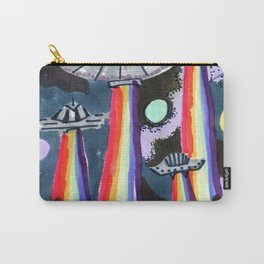 rainbow ufo Carry-All Pouch