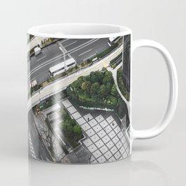 aerial view of tokyo Coffee Mug