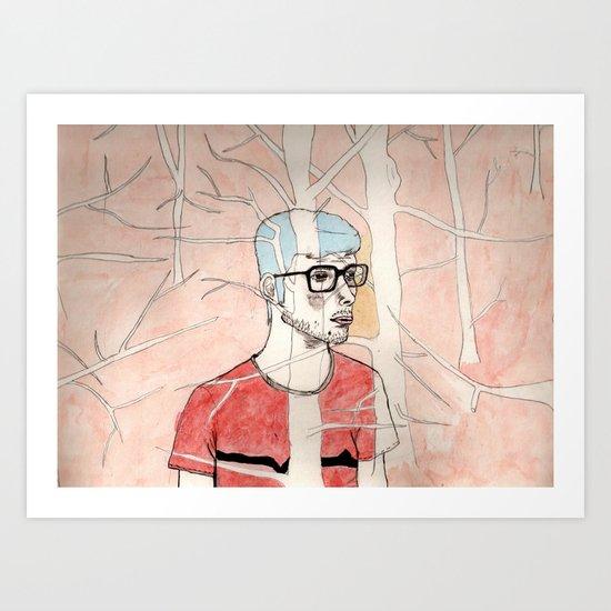 Martes Art Print