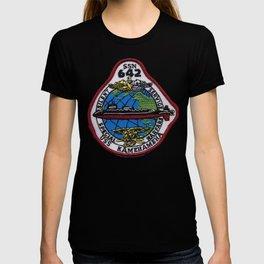 USS KAMEHAMEHA (SSN-642) PATCH T-shirt