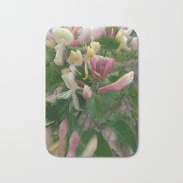 bindweed flowers Bath Mat