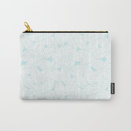 Leaves in Ice Carry-All Pouch