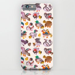 Duck and Duckling iPhone Case