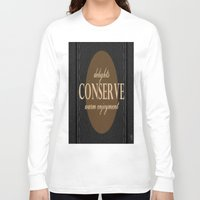 leather Long Sleeve T-shirts featuring LeAtHer COnSeRvE by ''CVogiatzi.