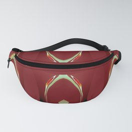 Arch Echoes on Red Fanny Pack