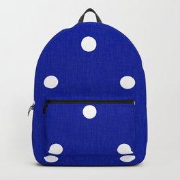 Dotty Blue Backpack