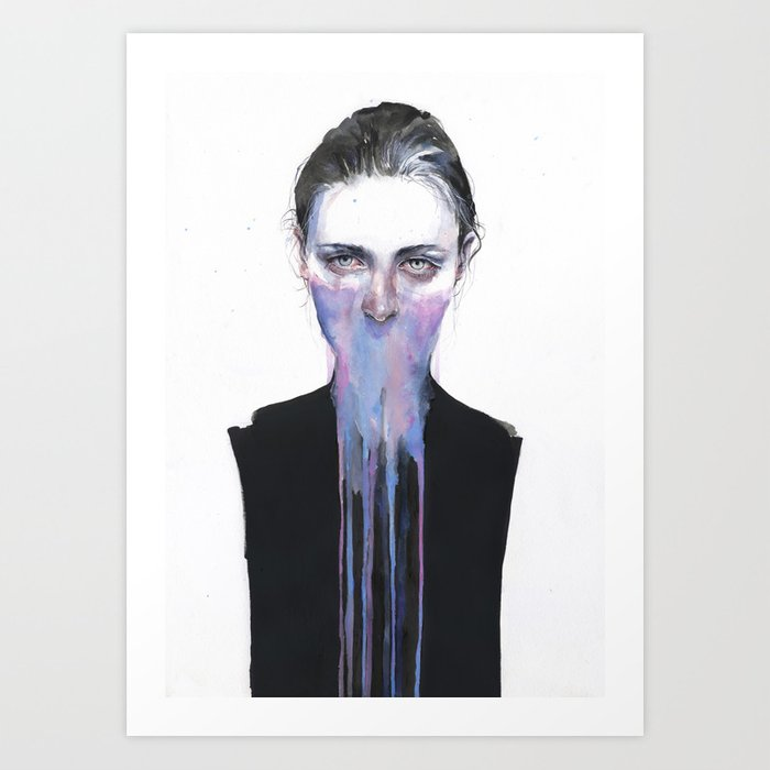 Discover the motif MY OPINION ABOUT YOU by Agnes Cecile as a print at TOPPOSTER