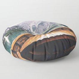 Mountain Lake Floor Pillow