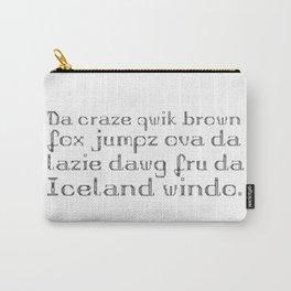 Da craze qwik Fox Carry-All Pouch