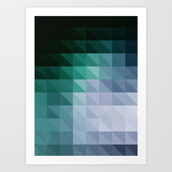 Triangular studies 03. Art Print
