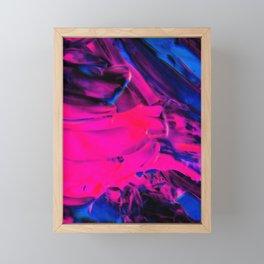 Black/Pink Vibrant Art Flipped Framed Mini Art Print