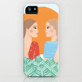 Les Filles iPhone Case