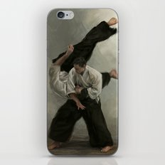 Irimi Nage iPhone & iPod Skin