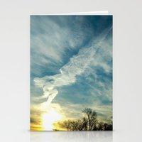 matisse Stationery Cards featuring Matisse Sunrise by Adam Clark