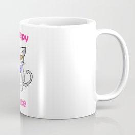 Creepy Cute Cat Kitten Anime Horror Kawaii Gift Coffee Mug