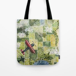 Soaring High Above Tote Bag