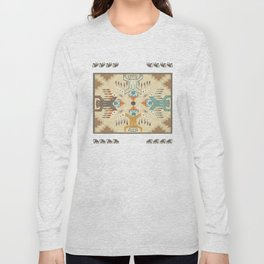 American Native Pattern No. 89 Long Sleeve T-shirt