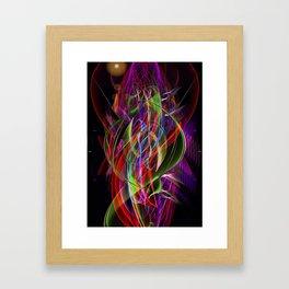 Art Deco Swirl Framed Art Print