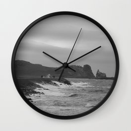 Grey Coast Wall Clock
