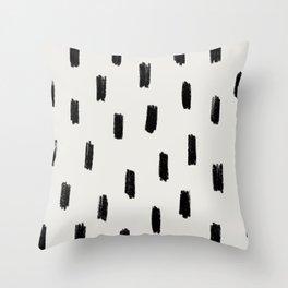 Scribble Pattern Throw Pillow