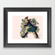 Saunter Framed Art Print
