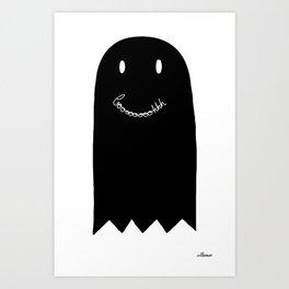 Booooh Art Print