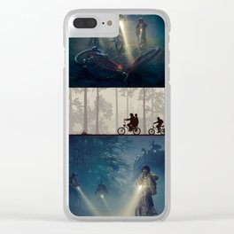 Stranger Thing Kids Clear iPhone Case